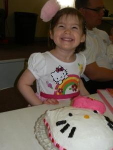 Aurora's 3rd birthday
