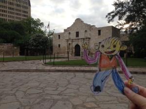 At Alamo