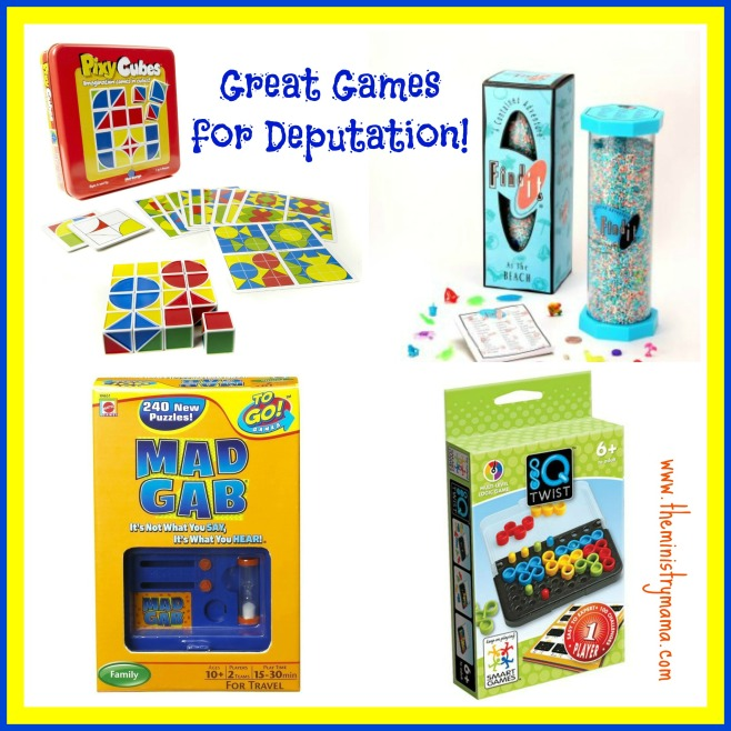 Deputations Games 1