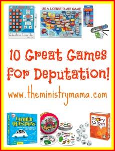 Deputations Games 2