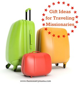 Gift Ideas for Traveling Missionaries (Luggage)