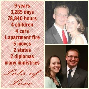 9 Year Anniversary