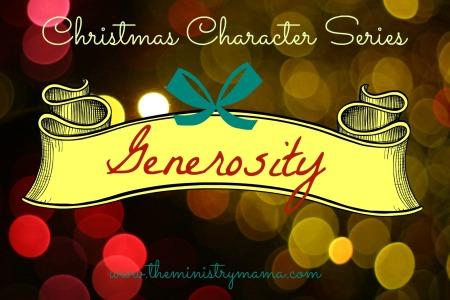 Christmas Character - Generosity