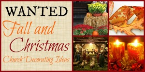 Fall and Christmas Decorating Ideas - Wanted