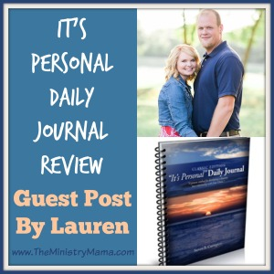 It's Personal Daily Journal Review