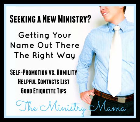 Getting Your Name Out - Ministry Helps
