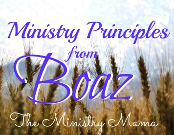 Ministry Principles from Boaz