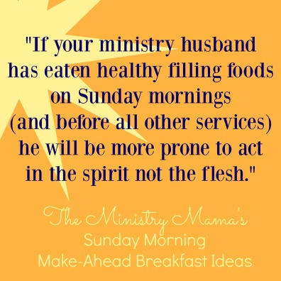 Sunday Morning Breakfast Quote