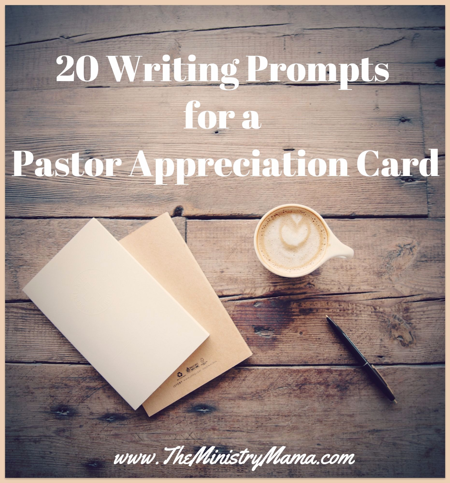 He Will Help You Fashion A Meaningful To Both And The Pastor Note That Can Be An Encouragement
